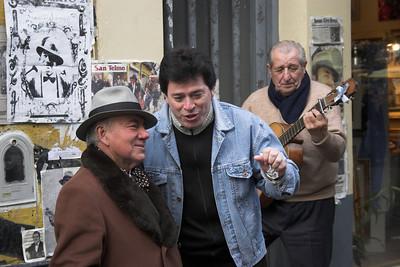 San Telmo Street Musicians