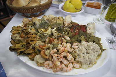 Seafood Selection at the Rincon Marino, Mercado Central