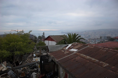 Valparaiso Harbor at Dawn