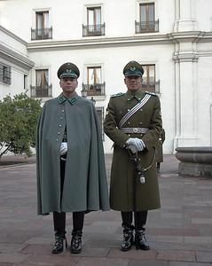 Quis custodiet ipsos custodes? La Moneda, Santiago de Chile