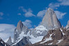 Mount Fitzroy and surrounding spires.