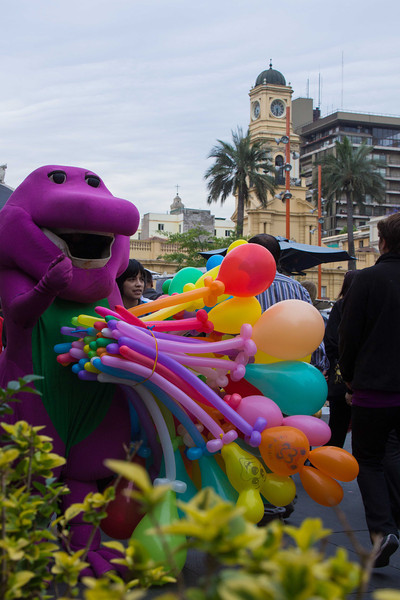 Barney gets everywhere and is fluent in a number of languages