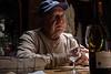 Oswaldo expounds on wine and life
