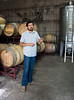 Paolo describes the vinification process at Antiyal
