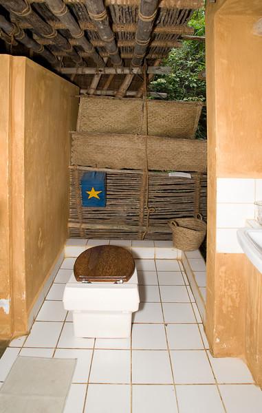 Composting toilet.