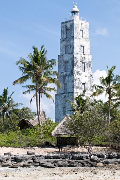 131 steps to the top of the historic lighthouse  built in 1904 by the Sultan of Zanzibar and the British.lighthouse;
