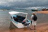 Our transportation for the 2 hour ride up Lake Tanganyika to Gombe Stream National Park.
