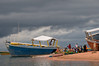 At the port of Kigoma.