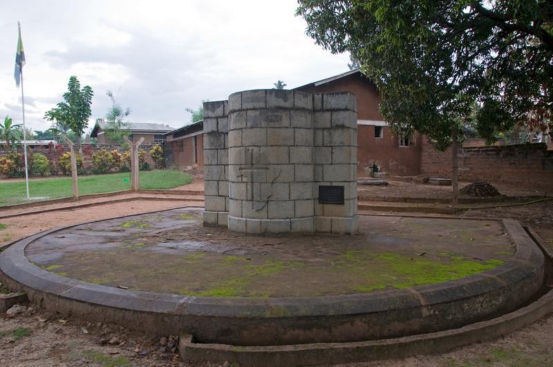 David Livingstone memorial.