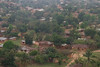 Flying in to Kigoma.