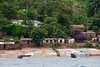 A typical fishing village along the shores of Lake Tanganyika.