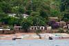 A typical fishing village along the shores of Lake Tanganyika.