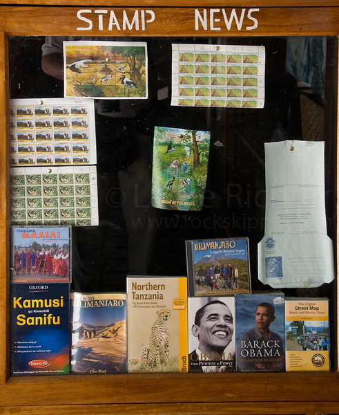 Kilimanjaro National Park headquarters gift shop.
