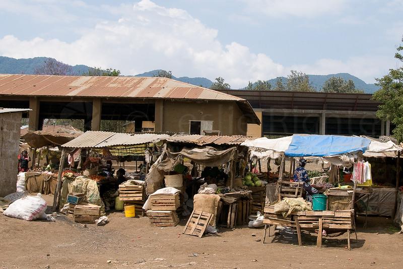 Market in Monduli town.