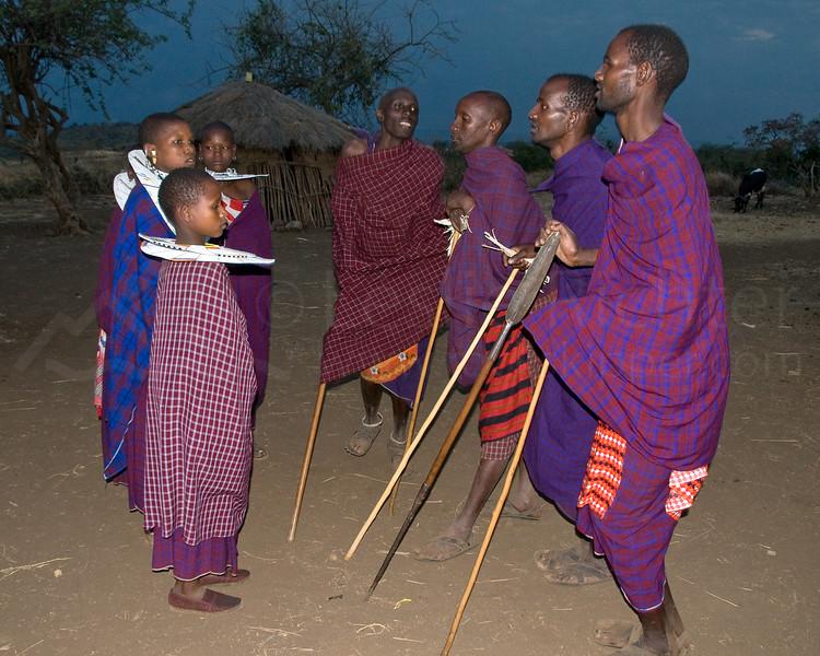 Masai dance.