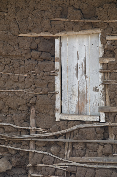 Typical boma window.