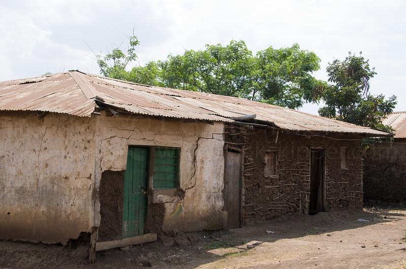 Monduli town street scene.
