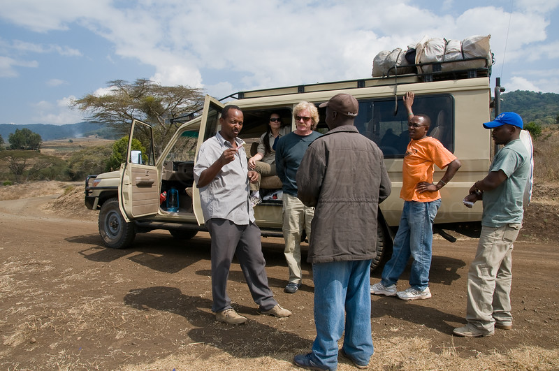 Our guides and transportation for much of the trip.