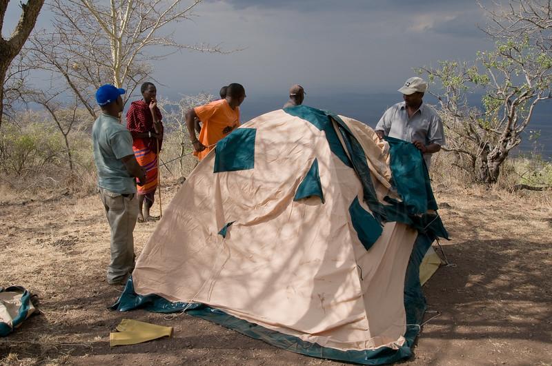 Monduli Juu campsite.