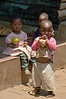 Chagga village children.