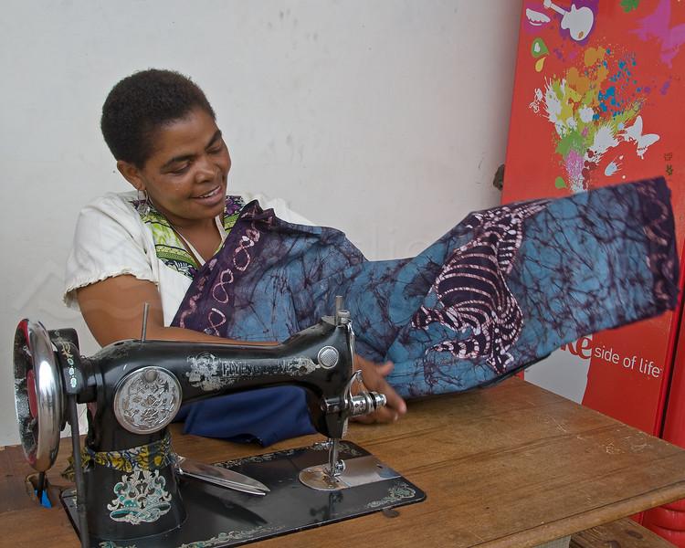 Moshi seamstress.