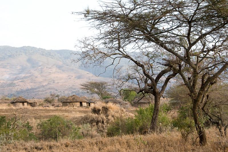 Masai bomas.