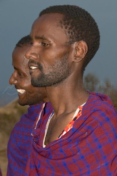 Masai men.