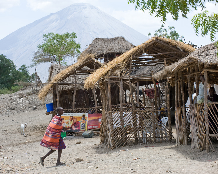 Village near Lake Natron.