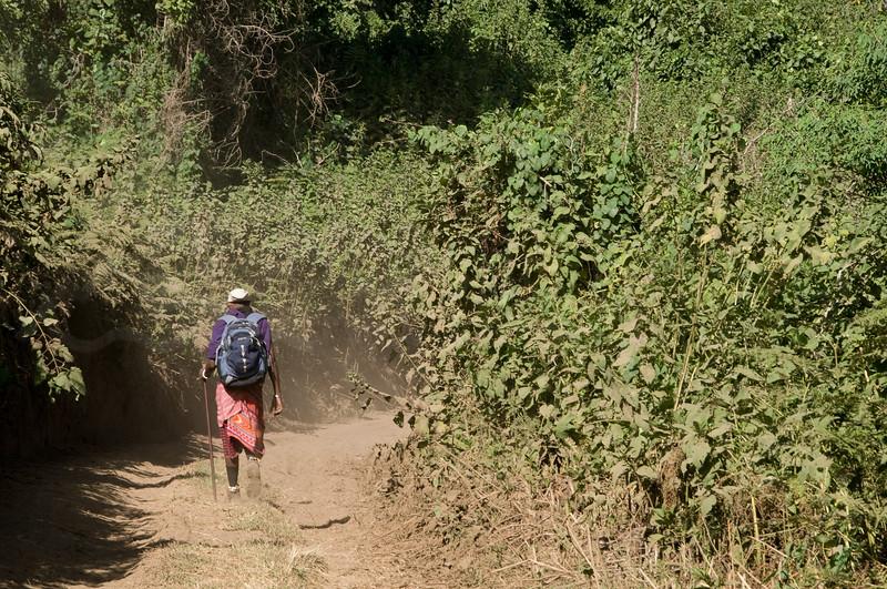 Our Masai guide, Edward.