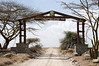 Nabi Gate entrance to Serengeti National Park.