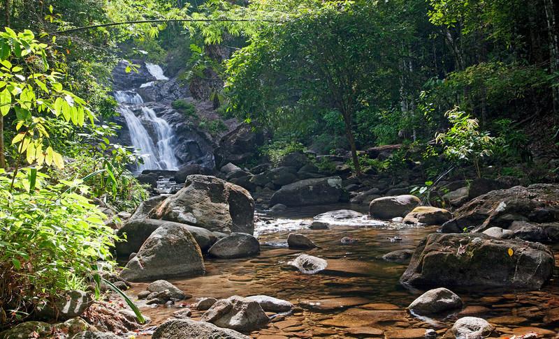 Lampi Waterfall