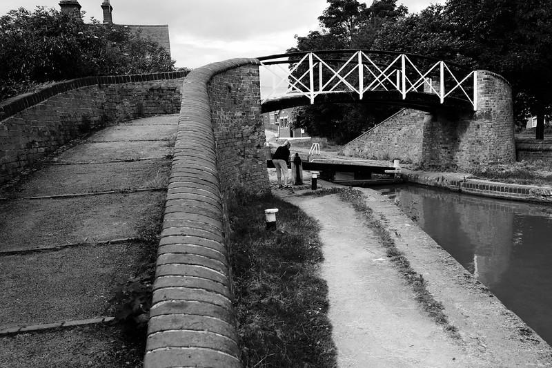 Bridge Over The Lock At Hawkesbury