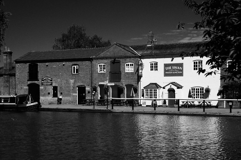 The Swan Pub, Fradley Junction