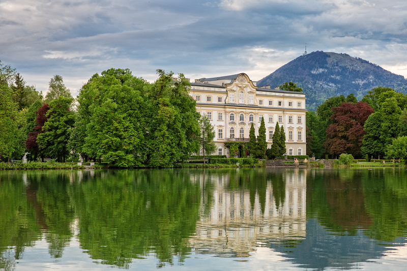 The beautiful Schloss Leopoldskron was one of the main film locations of The Sound of Music