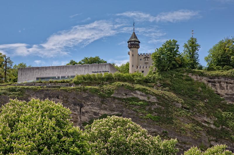The Museum der Moderne in Salzburg presents contemporary and modern art