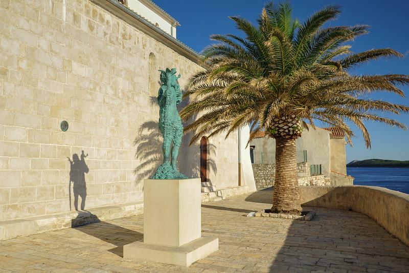 Statue des Hl. Christophorus - Statue of St. Christopher