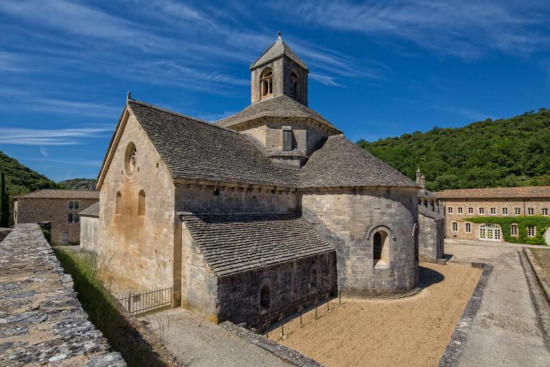 Cistercian Abbaye Notre-Dame de Senanque