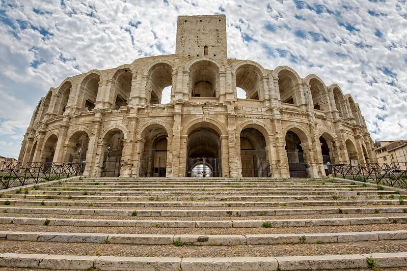 Ancient Roman arena in Arles - Arenes d' Arles