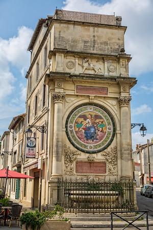 Arles old town