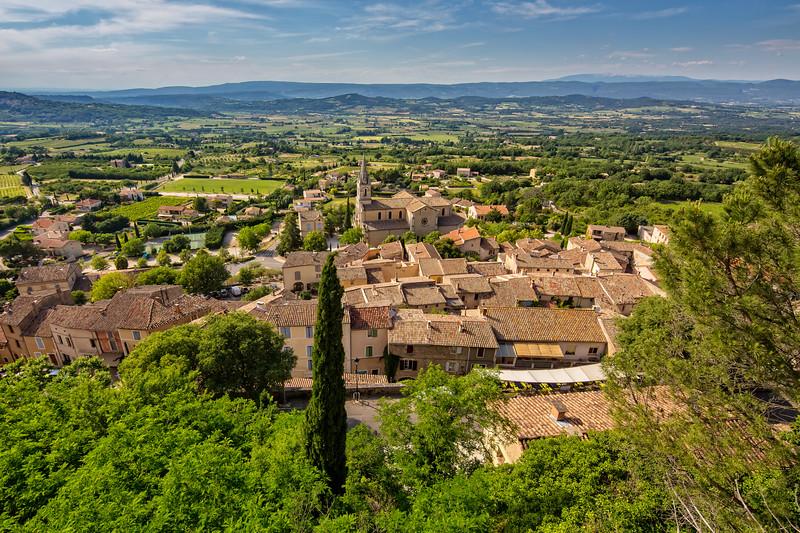 The village Bonnieux