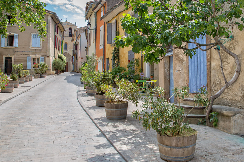 In the streets of Cucuron