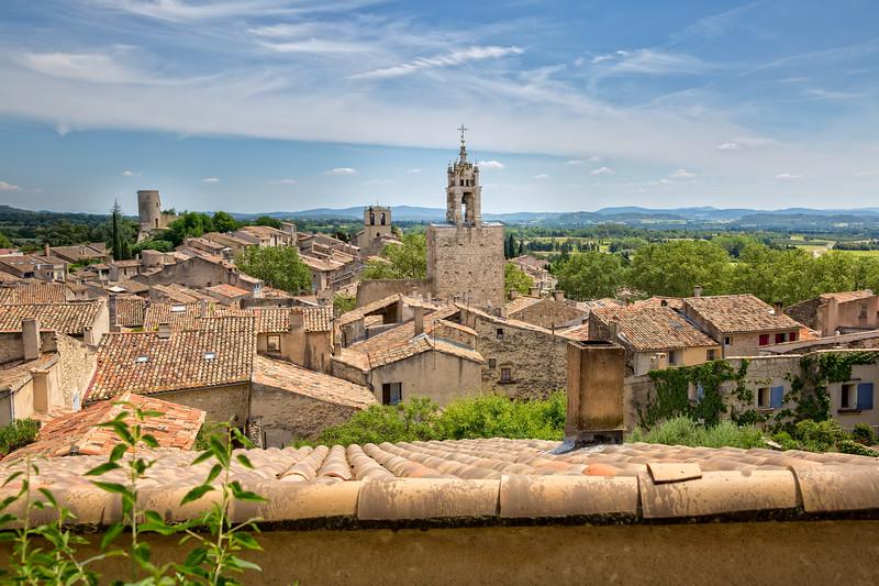 The village Cucuron