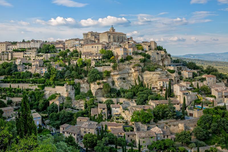 Gordes - a idyllic village in provence
