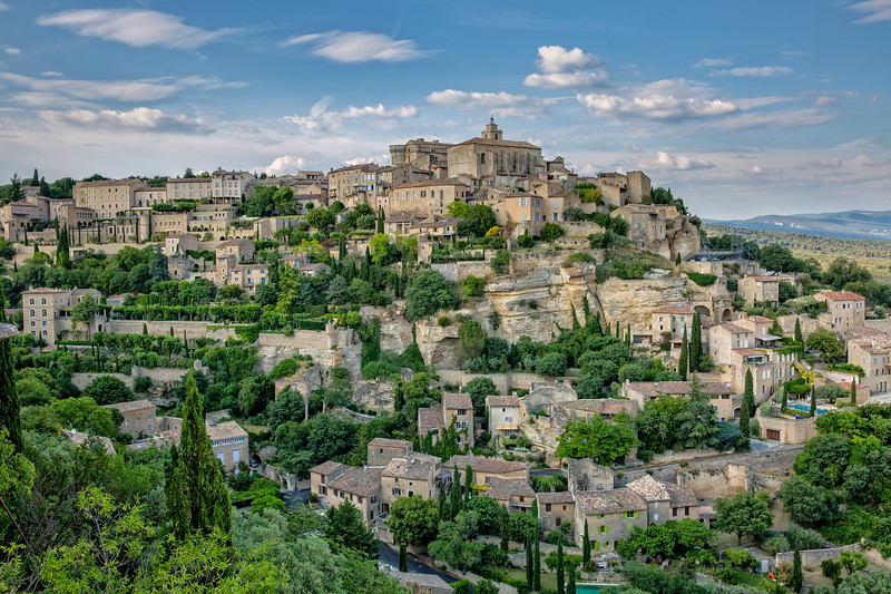 A beautiful village in the Vaucluse - Gordes