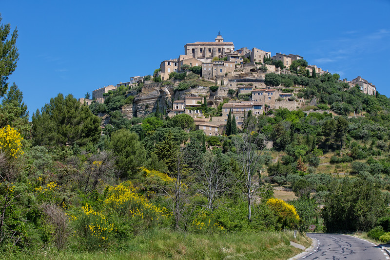 Gordes the village on the rock