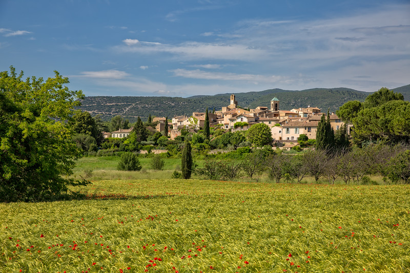 Lourmarin, a small village in the Luberon