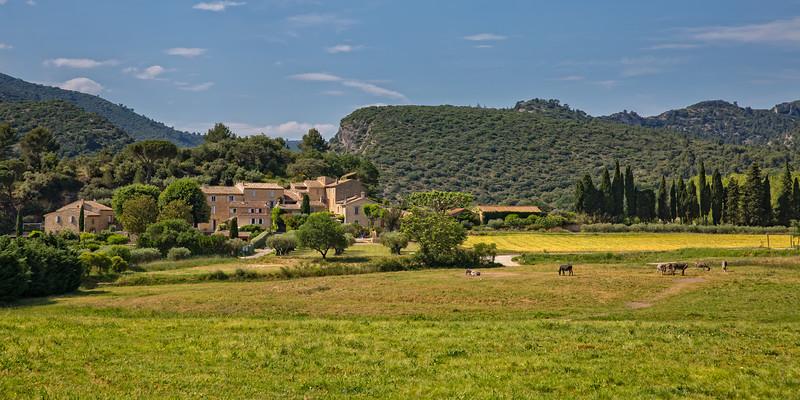 Countryside at Lourmarin