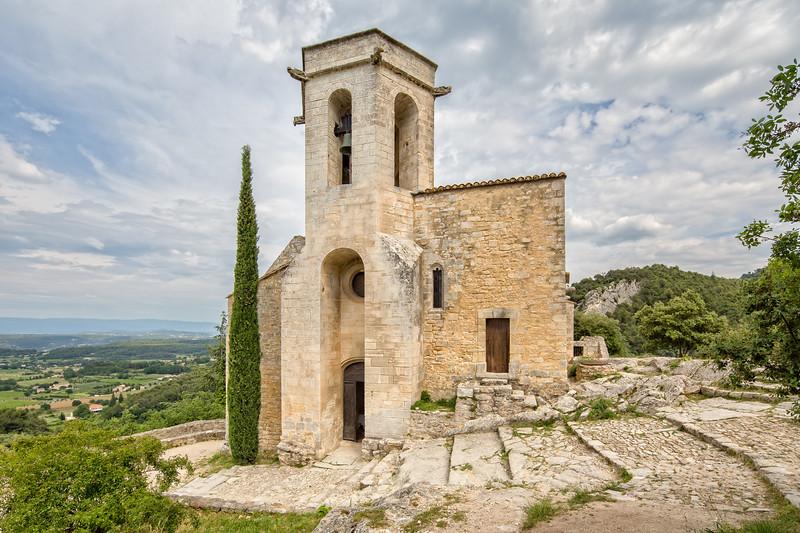 The church Notre Dame d'Alidon