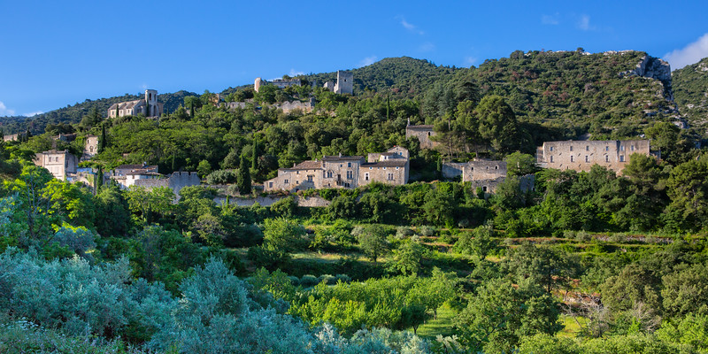 Oppède-le-Vieux, the ghost village of the Luberon