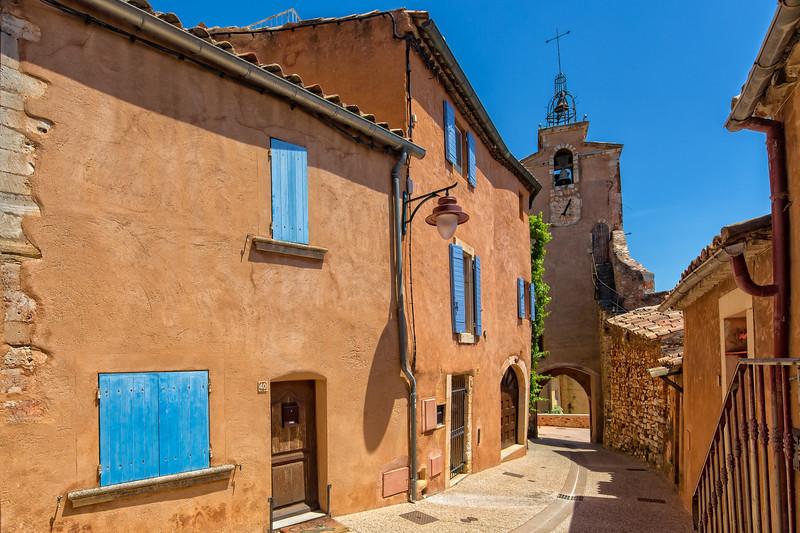 Belltower in Roussillon